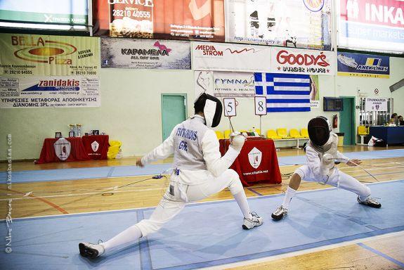 Chania Fencing Grand Prix 2015