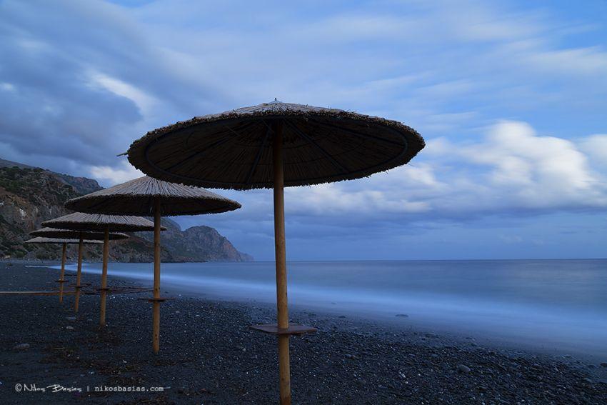 Close of day at Sougia-Nikos Basias photographer